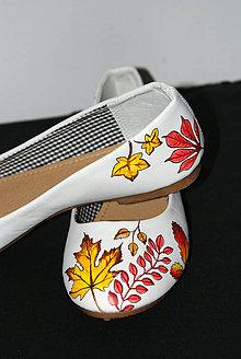 Obuv - jesenné balerínky - 7267508_