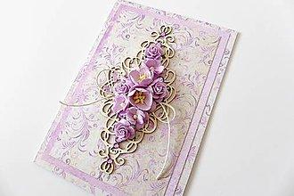 Papiernictvo - pohľadnica svadobná - 7267397_