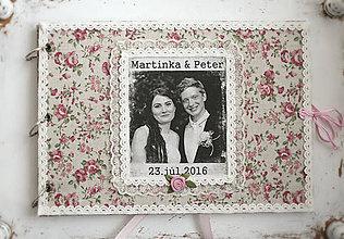 Papiernictvo - Svadobný fotoalbum - 7268152_