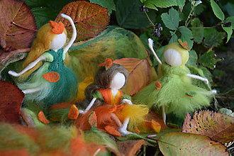Dekorácie - Jesenné vílky - 7270238_