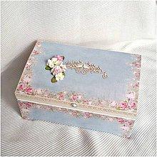 Krabičky - Svadobná truhlica - 7270234_