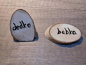 Darčeky pre svadobčanov - vintage svadba/menovky na stôl - 7267414_