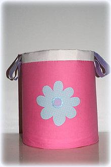 Detské doplnky - box na hračky, kvetinka 30X30 - 7269051_