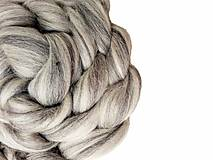- Merino zmes sivá - väčší balíček - 7267550_