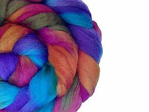 Iný materiál - Farebné merino - Jeseň - 7267568_