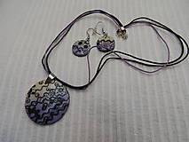 Sady šperkov - Violets - 7270799_