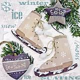 - vianočné korčule - 7268729_