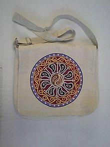 Veľké tašky - mandala a taška - 7269752_