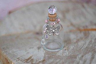 Drobnosti - magická lahvička na drobnosti a vzpomínky - 7269682_
