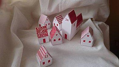 Hračky - Adventný kalendár - vystrihovačka - 7271247_