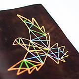 Papiernictvo - Vlastný vyšívaný motív - ZÁLOHA - 7272197_