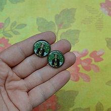 Náušnice - Frida n.4 puzetové náušnice - 7272532_