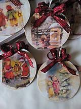 Dekorácie - Vianočné ozdoby Deti a Vianoce - 7272589_