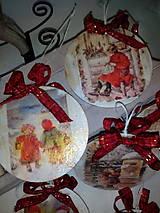 Dekorácie - Vianočné ozdoby Deti a Vianoce - 7272590_