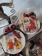 Dekorácie - Vianočné ozdoby Deti a Vianoce - 7272593_