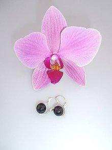 Náušnice - Swarovski perly náušnice facetované - 7273125_
