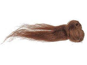 Textil - merino - čokoládovo hnedá 80g - 7275309_