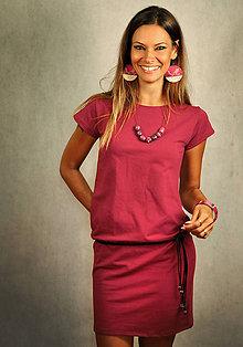 Šaty - Jednoduché šaty bez vreciek - Chateau Bordeaux - 7271678_