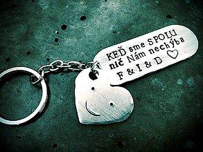 Kľúčenky - Keď sme spolu nič Nám nechýba ... - 7277853_