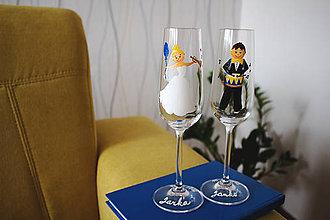 Nádoby - Svadobné poháre - 7277273_