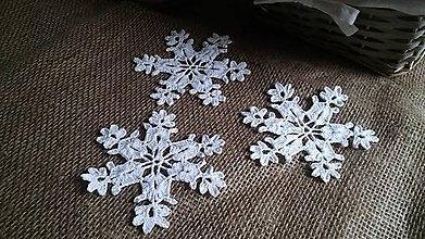 Dekorácie - Padá sniežik padá... - 7278119_