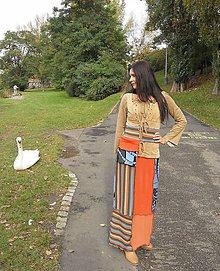Šaty - lelošatky jesenné - 7276056_