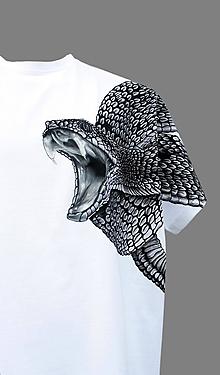 Tričká - Tričko s hadom - Hadí bodyguard - 7276360_