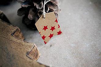 Papiernictvo - Vianočné menovky na darčeky - 7276527_