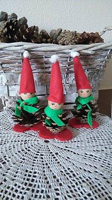 Dekorácie - Zľava,vianočný šiškovci - 7276908_