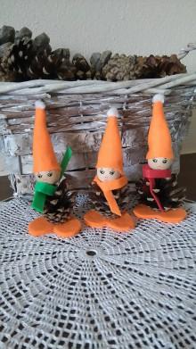 Dekorácie - Zľava,vianočný šiškovci - 7276945_