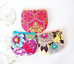 Peňaženky - Peňaženka - žlto-ružová - 7276198_
