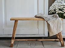 Nábytok - lavica I. / príručný stolík - 7276189_