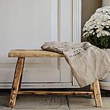 Nábytok - lavica / príručný stolík - 7276196_