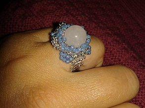 Prstene - prstienok z koralok - 7278963_