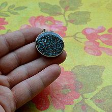 Náhrdelníky - Cesmína - náhrdelník 25 mm - 7279024_