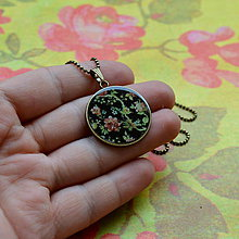 Náhrdelníky - Po babičce - náhrdelník 25 mm - 7279038_