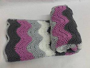 Textil - Háčkovaná deka - 7276604_