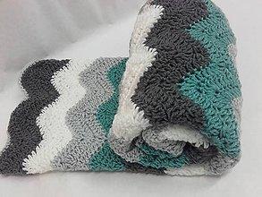 Textil - Háčkovaná deka - 7276617_