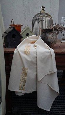 Úžitkový textil - la Barok...záves,obrus - 7275941_