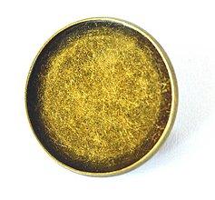 Komponenty - Brošňa kruh, 23 mm vnútorný priemer, farba starobronz /BK23sb/ - 7277343_