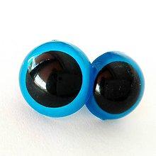 Iný materiál - 21mm bezpečnostné modré oči pre hračky - 7276975_