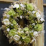 Dekorácie - Luxusný vianočný veniec - 7282271_