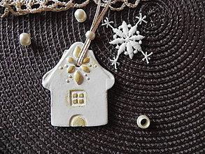 Dekorácie - Vianočná sada - mám rozprávkový domček:-) - 7283083_