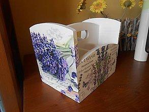 Krabičky - levanduľový do kuchyne - 7280472_