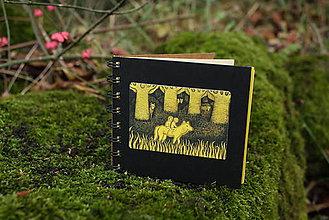 Papiernictvo - Notes střední s vlčicí - 7281208_