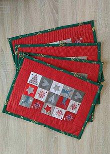 Úžitkový textil - Prestieranie vianočné tradičné - 7282260_