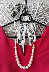 Náhrdelníky - Silikónový kojo náhrdelník