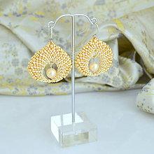 Náušnice - Orient pearl (Ag925) - 7281485_