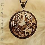 """Náhrdelníky - Amulet """"Zajac"""" - 7280884_"""