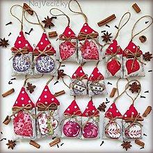 Dekorácie - Vianočné Mini Domčeky - 7280794_
